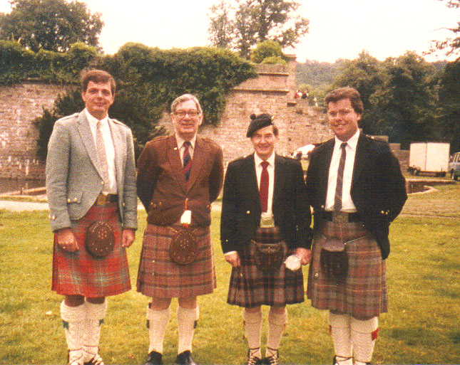 Scott MacAulay, Captain John MacLellan, Donald MacPherson, Michael Grey, Chatsworth games, 1986