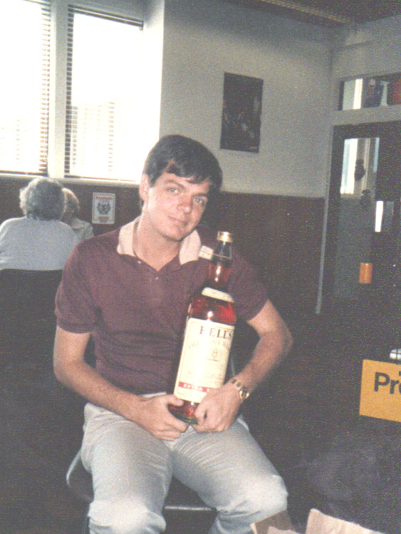 Scott MacAulay, The Overall Prize, Blairgowrie games, Prestwick airport, 1984
