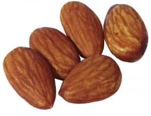 Almonds: they'll make you choke in your dithis doubling