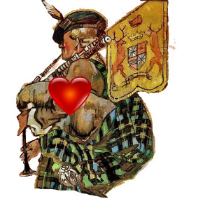 For the Love of the Bagpipes