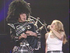 lorne cousin and madonna