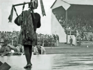 cowal games 1929 solo piping judges