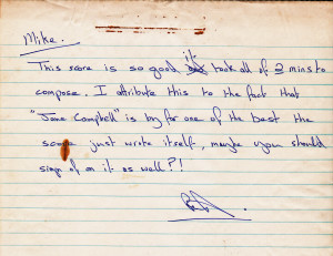 reid maxwell note re jane campbell tune