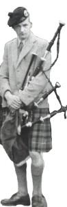 John D Burgess, Oban, 1950